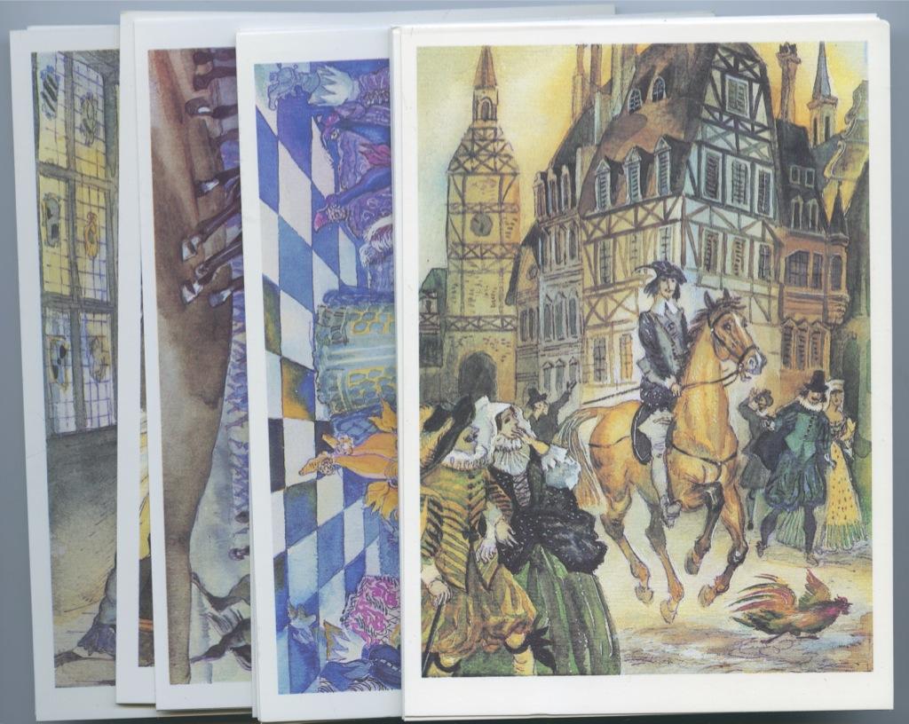 Нарисовать красивую, открытки к трем мушкетерам