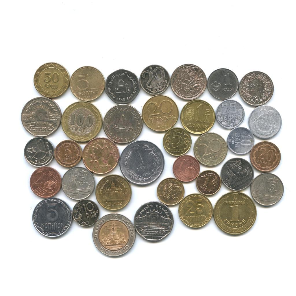 монеты разных стран мира фото и названия начинаем