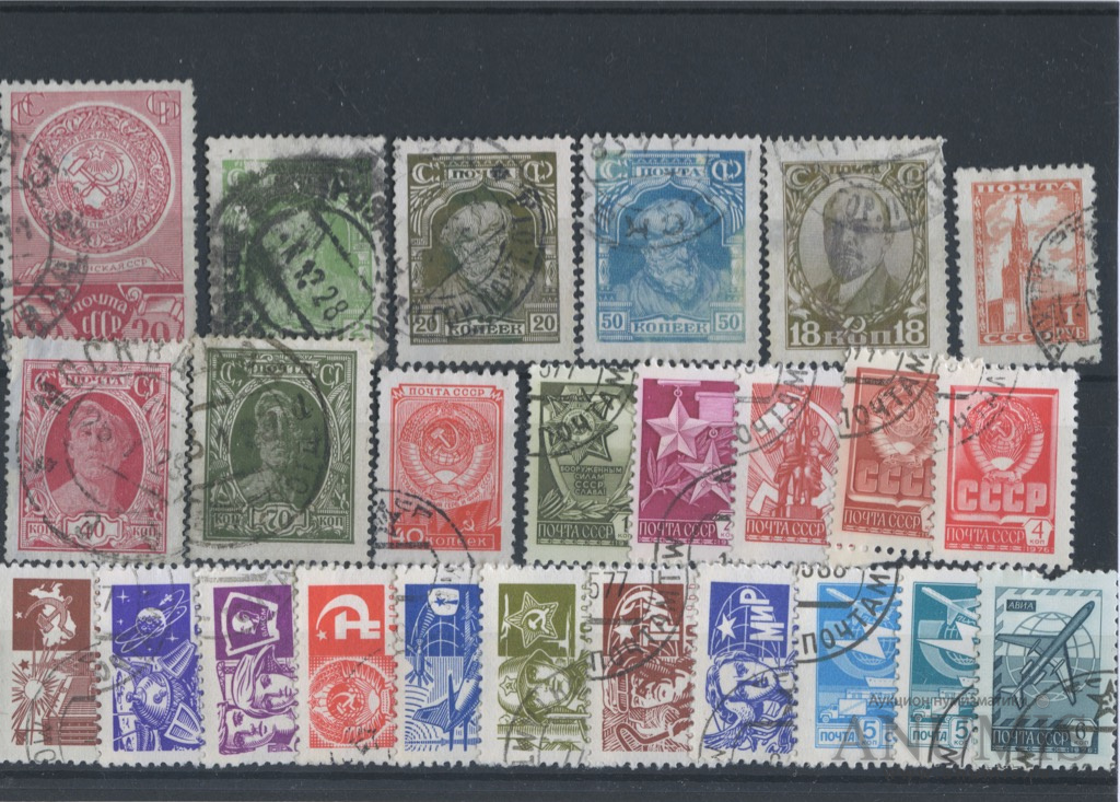 Какие марки на открытку, для