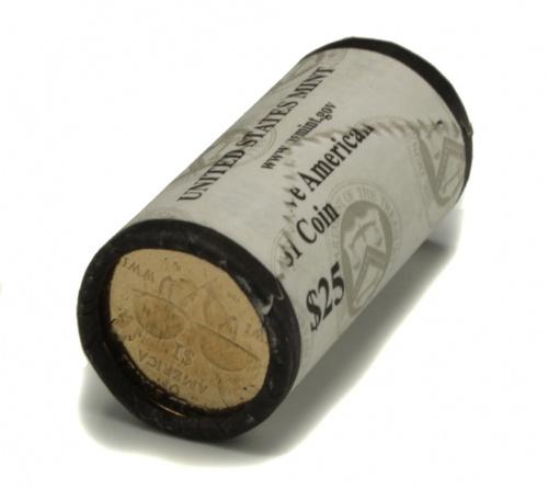 Лот монет 1 доллар— Индейцы-радисты Коренные Американцы, 25 шт вбанковской упаковке 2016 P