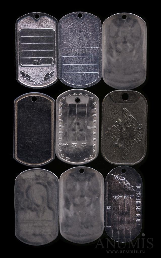 Настоящие армейские жетоны фото